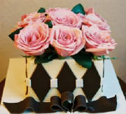 caramel flower box